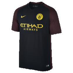 Мужское футбольное джерси 2016/17 Manchester City FC Stadium AwayМужское футбольное джерси 2016/17 Manchester City FC Stadium Away из легкой ткани обеспечивает комфорт на каждый день.<br>