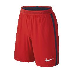 Мужские футбольные шорты 2016/17 Paris Saint-Germain Vapor Match Away/ThirdМужские футбольные шорты 2016/17 Paris Saint-Germain Vapor Match Away/Third — копия модели, в которой выступает знаменитая команда. Технология Nike Aeroswift представляет собой сочетание влагоотводящей ткани и специальной конструкции, позволяя достичь максимальной скорости на поле.  Чувствуй легкость  Специальная ткань с технологией Nike Aeroswift быстро высыхает и остается максимально легкой на протяжении всей игры или тренировки.  Идеальная посадка  Пояс Flyvent обеспечивает надежную посадку, вентиляцию и комфорт, позволяя сконцентрироваться на игре.  Создано для скорости  Обновленная эластичная трикотажная конструкция повторяет каждое движение тела даже на высокой скорости.<br>