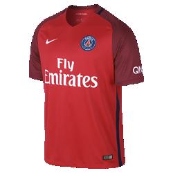 Мужское футбольное джерси 2016/17 Paris Saint-Germain Stadium AwayМужское футбольное джерси 2016/17 Paris Saint-Germain Stadium Away из легкой ткани обеспечивает комфорт на каждый день.<br>