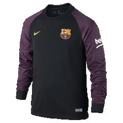 Футбольное джерси для школьников 2016/17 FC Barcelona Stadium Goalkeeper (XS–XL)Футбольное джерси для школьников 2016/17 FC Barcelona Stadium Goalkeeper из легкой влагоотводящей ткани обеспечивает комфорт во время игры и на каждый день.<br>
