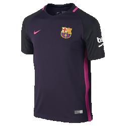 Футбольное джерси для школьников 2016/17 FC Barcelona Stadium Away (XS–XL)Футбольное джерси для школьников 2016/17 FC Barcelona Stadium Away из легкой влагоотводящей ткани обеспечивает комфорт во время игры и на каждый день.<br>