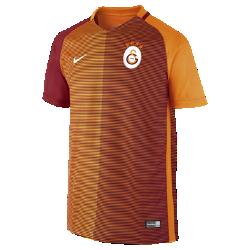 Футбольное джерси для школьников 2016/17 Galatasaray S.K. Stadium Home (XS–XL)Легкое и удобное футбольное джерси для школьников 2016/17 Galatasaray S.K. Stadium Home — отличный вариант как для похода на матч, так и для простой прогулки.<br>
