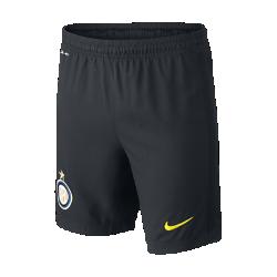 Футбольные шорты для школьников 2016/17 Inter Milan Stadium Home/Away/Third (XS–XL)Футбольные шорты для школьников 2016/17 Inter Milan Stadium Home/Away/Third из легкой ткани обеспечивают комфорт на каждый день.<br>