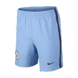 2016/17 Manchester City FC Stadium Home/Away/Third/Goalkeeper Older Kids' Football Shorts