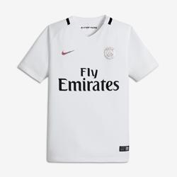 Футбольное джерси для школьников 2016/17 Paris Saint-Germain Stadium ThirdФутбольное джерси для школьников 2016/17 Paris Saint-Germain Stadium Third из легкой ткани обеспечивает комфорт на каждый день.<br>