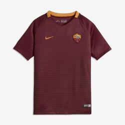 Футбольное джерси для школьников 2016/17 A.S. Roma Stadium Home (XS–XL)Футбольное джерси для школьников 2016/17 A.S. Roma Stadium Home (XS–XL) из легкой воздухопроницаемой ткани обеспечивает комфорт во время игры и на каждый день.<br>