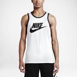 Мужская майка Nike Ace LogoМужская майка Nike Ace Logo из нескольких типов мягких тканей обеспечивает комфорт в любой ситуации.<br>
