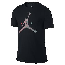Мужская футболка Jordan Jumpman AirМужская футболка Jordan Jumpman Air изготовлена из прочной и мягкой смесовой ткани на основе хлопка для комфорта на каждый день.<br>