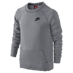 Толстовка для мальчиков школьного возраста Nike Tech Fleece (XS–XL)Толстовка для мальчиков школьного возраста Nike Tech Fleece изготовлена из мягкой комфортной ткани Nike Tech Fleece, инновационная конструкция которой удерживает тепло и не утяжеляет модель.<br>