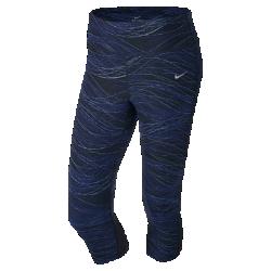 Женские капри для бега с принтом Nike Power Epic LuxЖенские капри для бега с принтом Nike Power Epic Lux из эластичной влагоотводящей ткани обеспечивают плотную посадку и защиту от влаги на протяжении всей дистанции.<br>