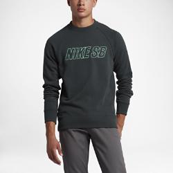 Мужская толстовка Nike SB Everett Reveal CrewМужская толстовка Nike SB Everett Reveal Crew из ткани френч терри со вставкой из рубчатой ткани на спине обеспечивает защиту от холода и полную свободу движений.<br>