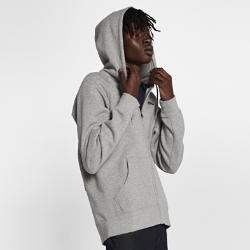 Мужская худи Nike SB Icon Full-ZipМужская худи Nike SB Icon Full-Zip из толстой флисовой ткани с начесом обеспечивает тепло. Рукава покроя реглан и вставки в области подмышек не сковывают движений в любой ситуации.<br>