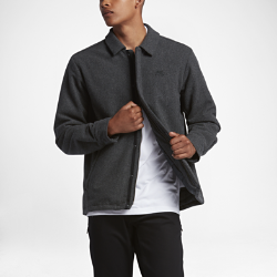 Мужская куртка Nike Camo BurnoutМужская куртка Nike SB Wool Coaches с классической конструкцией из шерстяной ткани с внутренним термослоем обеспечивает тепло в прохладную погоду.<br>