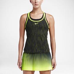 Женская теннисная майка NikeCourt Dry SlamЖенская теннисная майка NikeCourt Dry Slam обеспечивает охлаждение и комфорт от первой подачи до матч-пойнта.  Зональная воздухопроницаемость  Конструкция из специального тканого материала отвечает за вентиляцию в зонах повышенного тепловыделения и обеспечивает охлаждение.  Комфорт  Технология Dri-FIT обеспечивает превосходную воздухопроницаемость и комфорт, выводя влагу на поверхность ткани и позволяя коже дышать.  Невероятная мягкость  Практически бесшовная конструкция с удобной посадкой не натирает кожу и позволяет полностью сконцентрироваться на игре.<br>