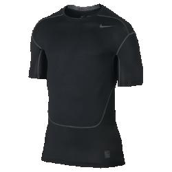 Мужская футболка для тренинга с коротким рукавом Nike Pro HyperCoolМужская футболка для тренинга с коротким рукавом Nike Pro HyperCool из влагоотводящей ткани со вставками из сетки обеспечивает комфорт во время тренировки.<br>