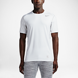 Мужская футболка для тренинга с коротким рукавом Nike Pro HyperCool FittedМужская футболка для тренинга с коротким рукавом Nike Pro HyperСool Fitted из ткани Dri-FIT со вставками из сетки обеспечивает вентиляцию и комфорт во время интенсивной тренировки или игры.<br>