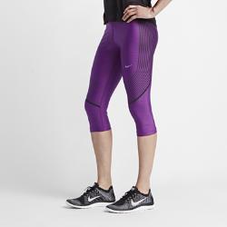 Женские капри для бега Nike Power SpeedЖенские капри для бега Nike Power Speed гарантируют абсолютную свободу движений и поддержку основных групп мышц благодаря плотной посадке и принтам, выполненным в технике термопечати. С ними ты можешь сконцентрироваться на скорости и дистанции, а не думать о том, когда все закончится.  Поддержка в движении  Компрессионная посадка обеспечивает высокий уровень поддержки основных групп мышц, гарантируя свободу движений.  Комфортная плотная посадка  Высокоэластичная ткань Dri-FIT сохраняет тело сухим, обеспечивая комфорт и свободу движений.  Важные мелочи всегда в сохранности  Карман на молнии сзади по центру с паронепроницаемым слоем для защиты вещей от влаги.<br>