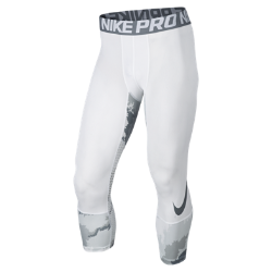 Мужские тайтсы с принтом для тренинга длиной 3/4 Nike Pro Hypercool PrintedМужские тайтсы с принтом для тренинга длиной 3/4 Nike Pro Hypercool с компрессионной посадкой и вставками из сетки обеспечивают функциональную поддержку, вентиляцию и комфорт.<br>