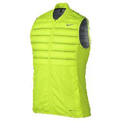 Мужской жилет для гольфа Nike AeroLoftМужской жилет для гольфа Nike AeroLoft обеспечивает комфорт и защиту от холода благодаря теплоизолирующему наполнителю и лазерной перфорации.<br>