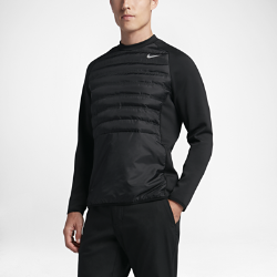 Мужская толстовка для гольфа Nike Aeroloft HyperAdapt CrewЛегкая мужская толстовка для гольфа Nike Aeroloft HyperAdapt Crew защищает от холода и обеспечивает полную свободу движений во время игры в холодную погоду.  Вентиляция и защита от холода  Технология Nike Aeroloft обеспечивает исключительную защиту от холода без утяжеления и создает направленную вентиляцию для сохранения тепла в холодную погоду без перегрева.  Свобода движений  Конструкция Nike HyperAdapt и эластичная ткань джерси обеспечивают свободу движений для идеального свинга.<br>