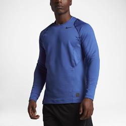 Мужская футболка для тренинга с длинным рукавом Nike Pro HyperWarmМужская футболка для тренинга с длинным рукавом Nike Pro HyperWarm из мягкой и легкой ткани удерживает тепло тела во время тренировок на улице или в день важной игры.<br>