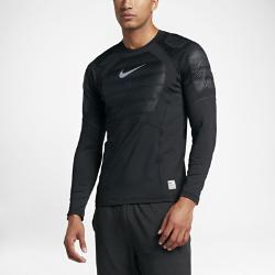 Мужская футболка для тренинга с длинным рукавом Nike Pro HyperWarm AeroloftМужская футболка для тренинга с длинным рукавом Nike Pro HyperWarm Aeroloft обеспечивает эффективную вентиляцию и защиту от холода для оптимального тепла и комфорта во время тренировок в холодную погоду.<br>