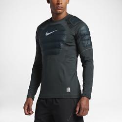 Мужская футболка для тренинга с длинным рукавом Nike Pro HyperWarm AeroloftМужская футболка для тренинга с длинным рукавом Nike Pro HyperWarm Aeroloft обеспечивает эффективную вентиляцию и защиту от холода для оптимального тепла и комфорта во время тренировок в холодную погоду.  Зональная защита от холода  Прочные вставки с легким наполнителем обеспечивают тепло там, где это необходимо, не ограничивая движений.  Зональная вентиляция  Эта футболка Nike не только самая теплая, но и самая воздухопроницаемая: продуманное расположение вставок из термосетки обеспечивает вентиляцию и комфорт при повышении нагрузки.  Будь заметнее  Светоотражающие детали на рукавах делают тебя заметнее во время тренировок в темное время суток.<br>