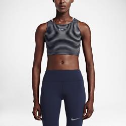 Женская майка для бега Nike PowerЖенская майка для бега Nike Power с идеальной посадкой обеспечивает максимальную концентрацию во время бега на любую дистанцию.<br>