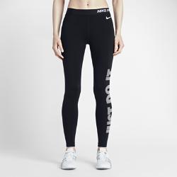 Женские тайтсы для тренинга с графикой Nike Pro WarmЖенские тайтсы для тренинга с графикой Nike Pro Warm обеспечивают тепло во время тренировок в холодную погоду благодаря толстой ткани Dri-FIT с начесом. Плотная посадка и эластичная ткань позволяют носить тайтсы отдельно или сочетать с другими предметами одежды.<br>