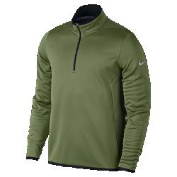 Мужская футболка Nike Hypervis Half-ZipВентиляция и комфортБоковые вставки из трикотажной сетки обеспечивают воздухопроницаемость там, где это необходимо.<br>