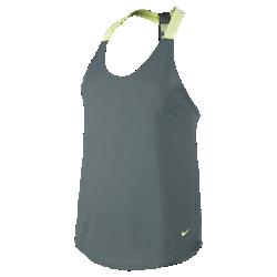 Женская майка для тренинга NikeЖенская майка для тренинга Nike из невероятно легкой влагоотводящей ткани со свободной посадкой обеспечивает функциональную воздухопроницаемость.<br>