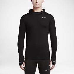 Мужская худи для бега Nike Dry ElementМужская худи для бега Nike Dry Element с плотной посадкой и стильным силуэтом обеспечивает невесомую защиту от холода во время уличных пробежек.<br>