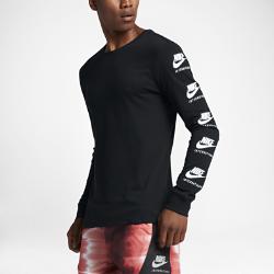 Мужская футболка с длинным рукавом Nike InternationalistМужская футболка с длинным рукавом Nike Internationalist с новой графикой Nike International воплощает новаторский дух первого международного бегового клуба Nike. Мягкий 100% хлопок обеспечивает непревзойденный комфорт.<br>