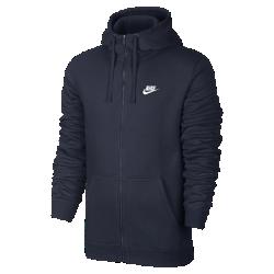 Мужская худи Nike Sportswear Full-ZipМужская худи Nike Sportswear Full-Zip из флисовой ткани с начесом и «водолазным» капюшоном обеспечивает великолепную защиту и тепло.<br>