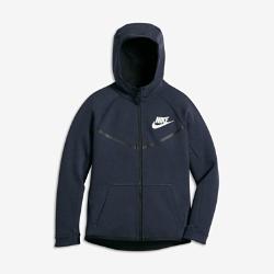 Худи для мальчиков школьного возраста Nike Sportswear Tech Fleece WindrunnerХуди для мальчиков школьного возраста Nike Sportswear Tech Fleece Windrunner с легендарным силуэтом Windrunner и полноразмерным капюшоном обеспечивает защиту от холода и потрясающую мягкость благодаря материалу Nike Tech Fleece.<br>