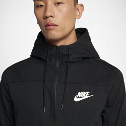 Мужская худи из трикотажного материала Nike Sportswear Advance 15Мужская худи из трикотажного материала Nike Sportswear Advance 15 из мягкой смесовой ткани с регулируемым «водолазным» капюшоном сохраняет тепло и создает неповторимый образ.<br>