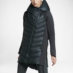 Женская парка с пуховым наполнителем Nike Sportswear Tech Fleece AeroloftЖенская парка с пуховым наполнителем Nike Sportswear Tech Fleece Aeroloft из легкого флиса с дышащим наполнителем обеспечивает максимальную защиту в холодную погоду. Удлиненный силуэт длиной 3/4 создает дополнительную защиту, а водоотталкивающее покрытие по всей поверхности защищает от дождя и снега.<br>