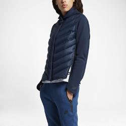 Женская куртка с пуховым наполнителем Nike Sportswear Tech Fleece AeroloftВдохновленная классической летной курткой, женская куртка с пуховым наполнителем Nike Sportswear Tech Fleece Aeroloft с дышащим наполнителем, технологичным флисом и водоотталкивающим покрытием прекрасно защищает от холода.<br>