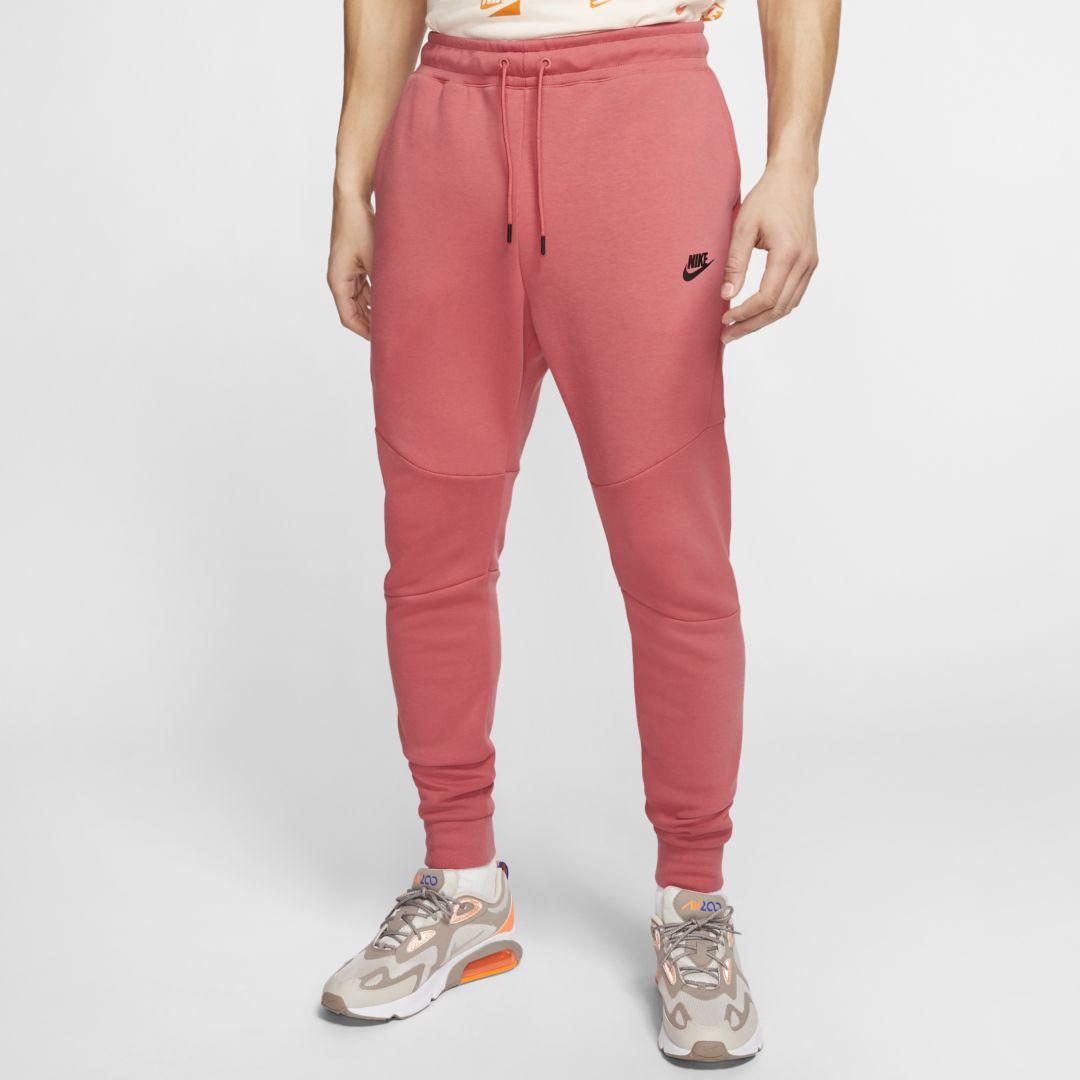 Nike Sportswear Tech Fleece Men's Joggers (Pueblo Red ...