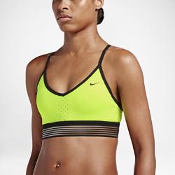 Женское бра с легкой поддержкой Nike Indy CoolЗаниженная Т-образная спина и V-образный вырез делают женское бра с легкой поддержкой Nike Indy Cool идеальным для занятий низкой интенсивности, таких как ходьба, тренировки с отягощениями и йога. Тонкие бретели регулируются для идеальной посадки, а мягкая эластичная кромка не натирает кожу.<br>