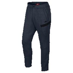 Мужские брюки Nike Sportswear Tech FleeceСтильные и комфортные мужские брюки Nike Sportswear Tech Fleece облегающего кроя выполнены из высокотехнологичного флиса для защиты от холода без утяжеления.<br>