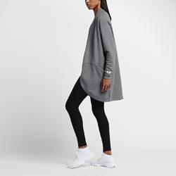 Женский кардиган Nike Sportswear ModernЖенский кардиган Nike Sportswear Modern создает ощущение комфорта благодаря мягкой и легкой смесовой ткани на основе хлопка.<br>