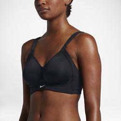 Спортивное бра с высокой поддержкой Nike HeroСпортивное бра с высокой поддержкой Nike Hero с литой конструкцией выгодно подчеркивает форму груди и обеспечивает комфорт во время самых интенсивных тренировок. Широкие регулируемые бретели и застежка на крючки обеспечивают идеальную посадку.<br>