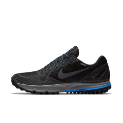 Мужские беговые кроссовки Nike Air Zoom Wildhorse 3 GTXМужские беговые кроссовки Nike Air Zoom Wildhorse 3 GTX с мембраной Gore-Tex&amp;#174;на воздухопроницаемом верхе обеспечивают вентиляцию и комфорт в непогоду. Вставка Nike Zoom Air и технология Dynamic Fit обеспечивают низкопрофильную защиту от ударных нагрузок и удобную посадку на различных типах поверхности.<br>