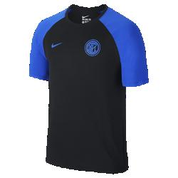 Мужская футболка Inter Milan MatchМужская футболка Milan Match из комфортного мягкого хлопка украшена символикой команды.<br>