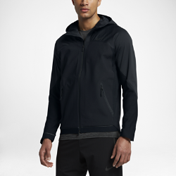Мужская куртка для тренинга Nike FlexМужская куртка для тренинга Nike Flex из ткани с водоотталкивающим покрытием и легким наполнителем обеспечивает защиту и тепло во время тренировок на улице.<br>