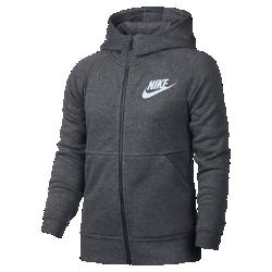 Худи для девочек школьного возраста Nike Sportswear ModernХуди для девочек школьного возраста Nike Sportswear Modern из мягкого смесового хлопка обеспечивает комфорт и тепло на весь день.<br>