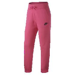 Брюки для девочек школьного возраста Nike Sportswear FleeceБрюки для девочек школьного возраста Nike Sportswear Fleece из ультрамягкого смесового хлопка обеспечивают тепло во время прогулок в холодную погоду.<br>