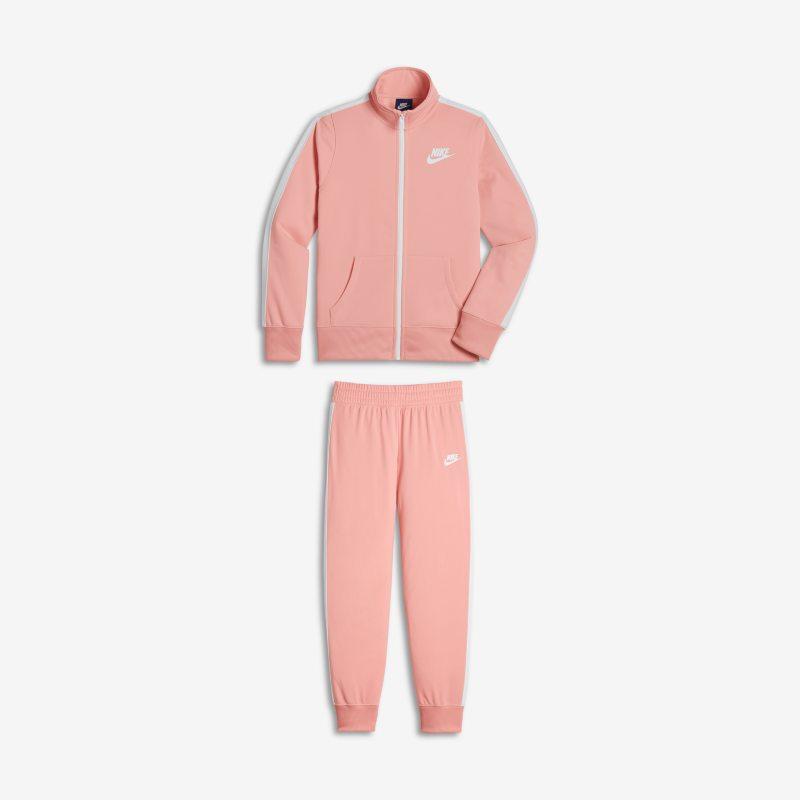 ce0b230b2a56 Nike Sportswear Warm-Up Older Kids (Girls ) Tracksuit - Pink Image