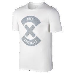 Мужская футболка NikeFootballX LogoМужская футболка NikeFootballX Logo из комфортной смесовой ткани украшена графикой, посвященной мини-футболу.<br>